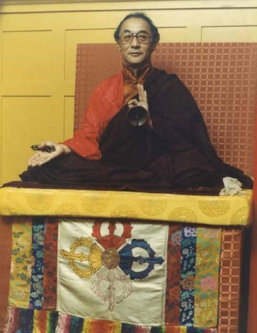 H. H. Jigdal Dagchen Dorje Chang at Burke St