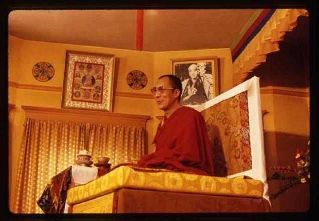 H. H. The Dalai Lama, 1979